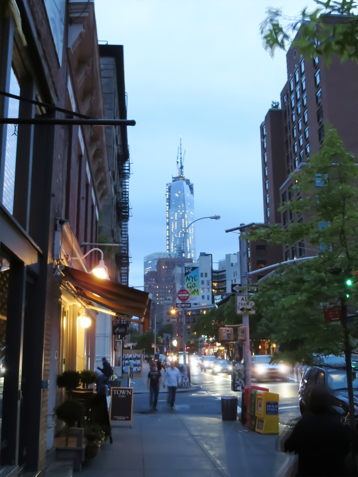 View of the new Freedom Tower