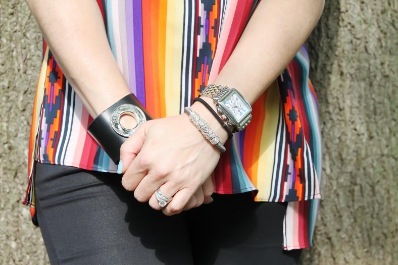 Watch - Michele Watches, Walter Bauman Bracelets from a boutique in St. Paul de Vence, FR