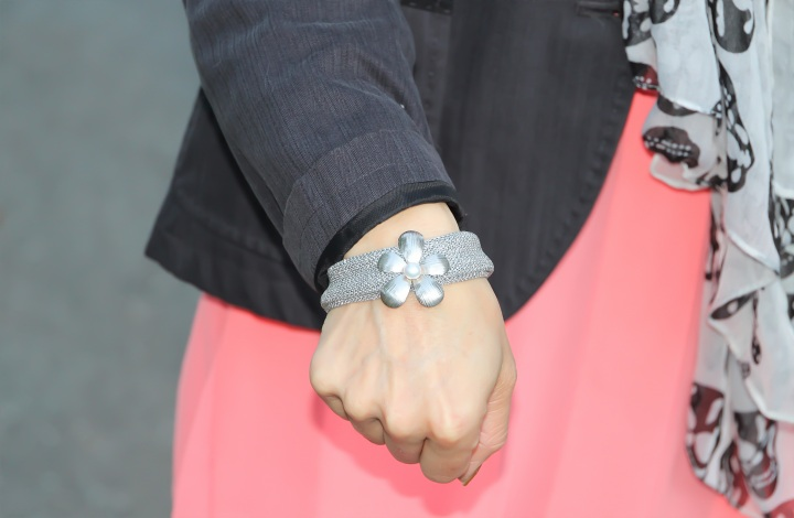 Bracelet - Silver Mesh