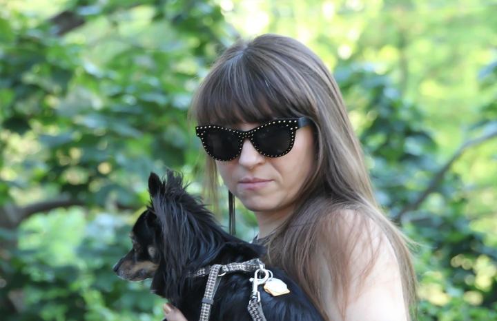 Studded Sunglasses - Italia Independent