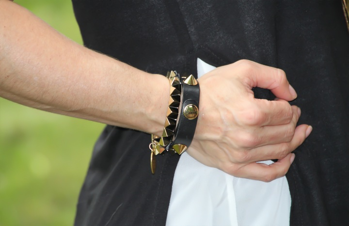 Studded Bracelets - Cara and Nordstrom