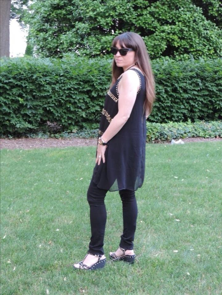 Black Seamed Jeans - Helmut Lang