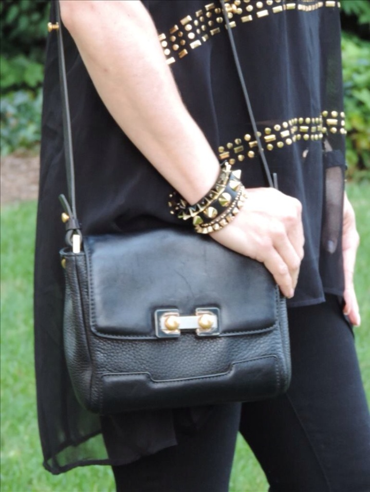 Purse - Marc by Marc Jacobs Studded Bracelets - Cara, Nordstrom, Forever 21