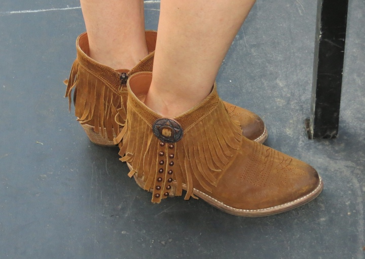 Fringed Booties - Sam Edelman