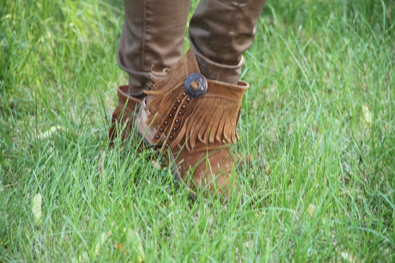 Fringe Boots - Sam Edelman