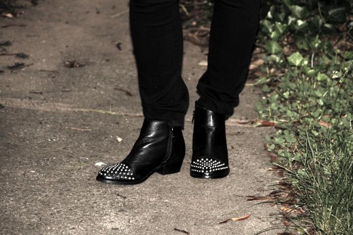 Studded Booties - Steve Madden