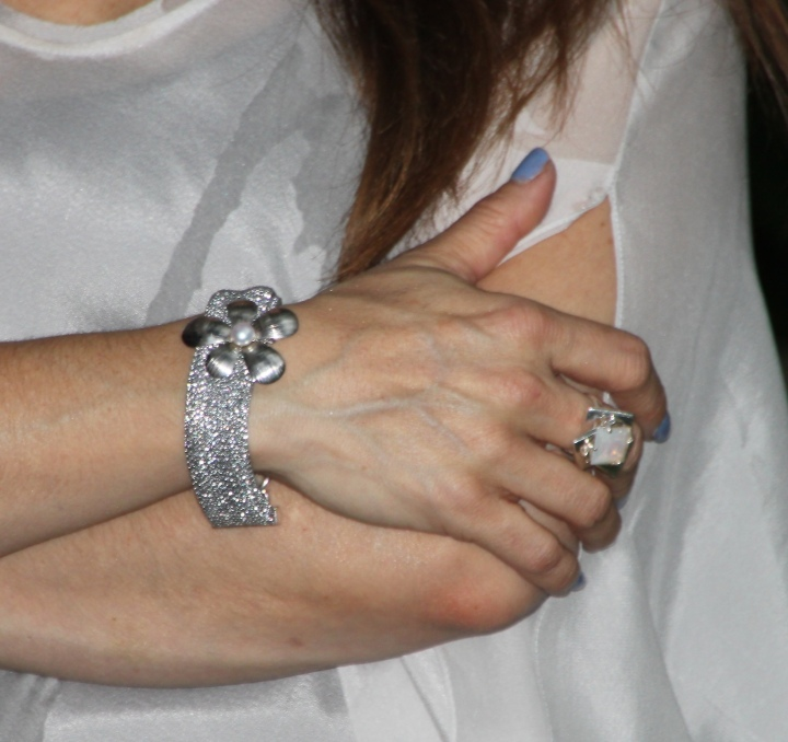 Bracelet - Walter Bauman, Silver and Pearl Ring - A gift from daddy while were in Paris