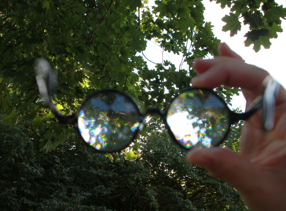 #KALEIDOSCOPE GLASSES by Future Eyes (1/6)