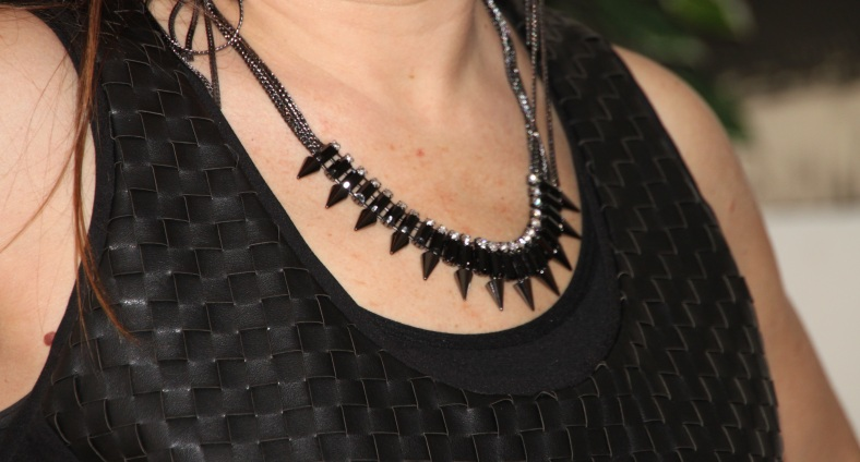 Robert Rose Spike Necklace