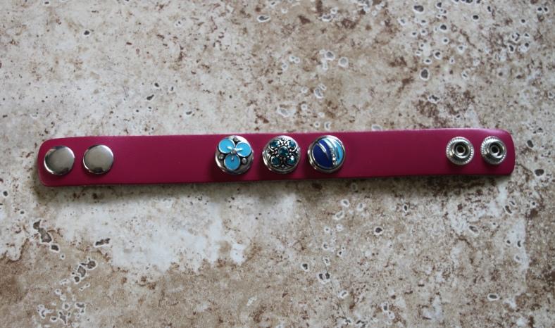 Blue Chuck on Bracelet