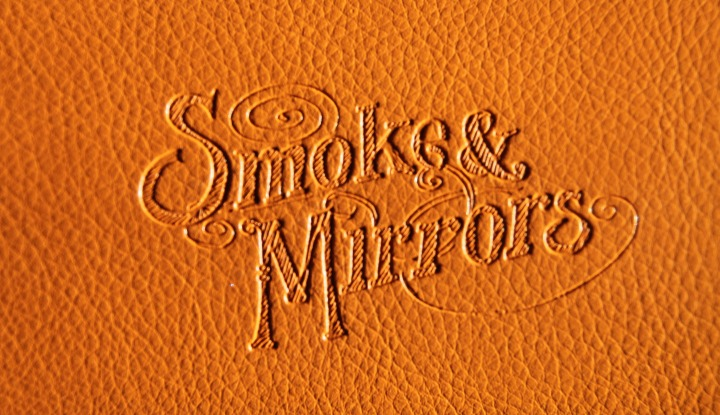 Smoke and Mirrors Case Logo