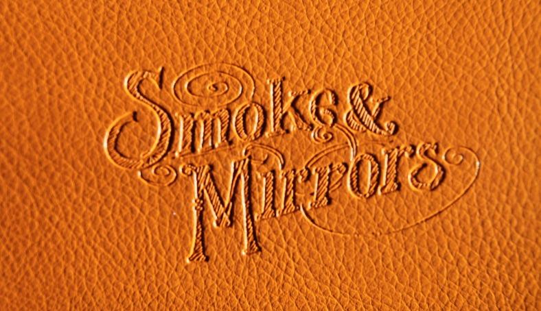Smoke and Mirrors Case Logo