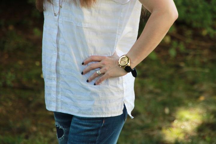 Michele Watch Gap Shirt
