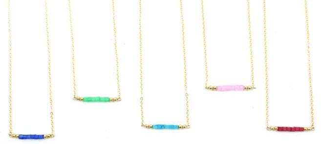 Cape Bar Necklace