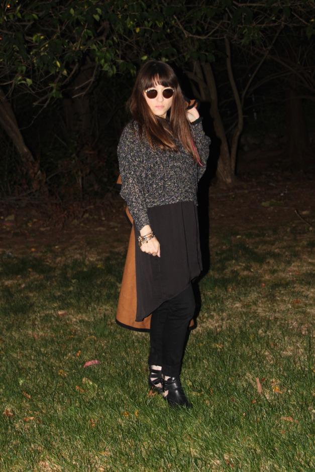 Sweater Over Dress