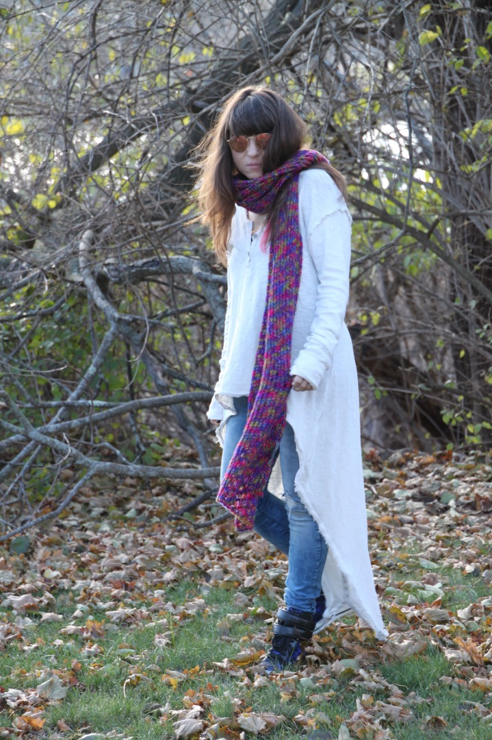 Long Knit Scarf
