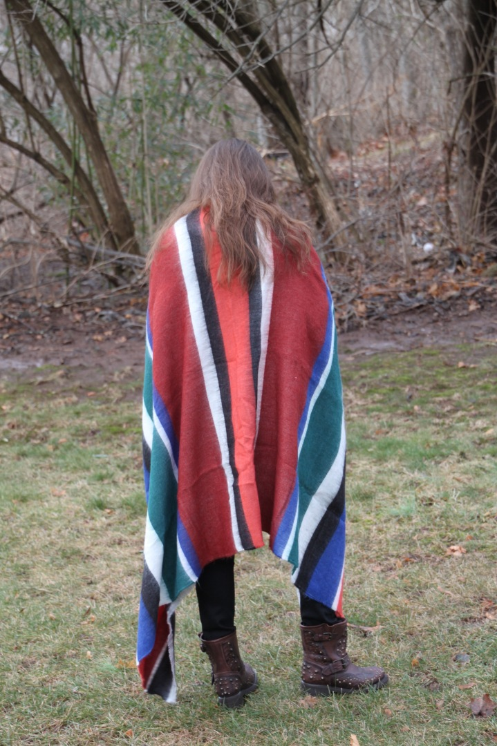 Cozy Chic Striped Scarf