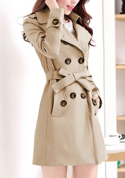 Khaki Classic Trench Coat